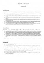 Ersatzteilliste Wassertank Orca - englisch Spare parts list water tank Orca - english
