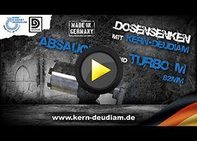 Praxisvideos - Dosensenken mit KERN-DEUDIAM Absaugung und TURBO M Preview