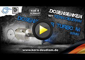 Praxisvideos - Dosensenken mit KERN-DEUDIAM TURBO M Preview