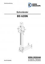 Bedienungsanleitung Bohrständer BS620N