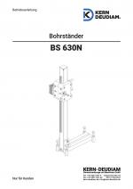 Bedienungsanleitung Bohrständer BS630N