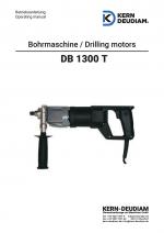 Bedienungsanleitung Bohrmotor DB1300T