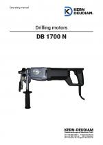 Bedienungsanleitung Bohrmotor DB1700N