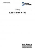 Bedienungsanleitung Bohrständer K100