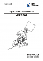 Bedienungsanleitung Fugenschneider KDF350B