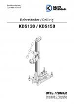Bedienungsanleitung Bohrständer KDS130, KDS150