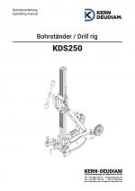 Bedienungsanleitung Bohrständer KDS250