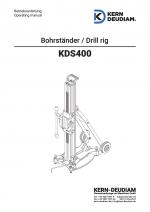 Bedienungsanleitung Bohrständer KDS400