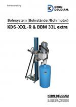 Bedienungsanleitung KDS XXLR BBM 33l extra