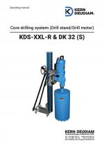 Bedienungsanleitung Bohrständer KDS XXL R DK32