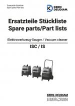 Ersatzteilliste Industrieentstauber Compact M
