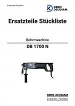 Ersatzteilliste Bohrmotor DB1700N