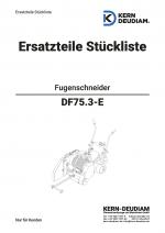 Ersatzteilliste DF75.3e