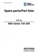 Ersatzteilliste Bohrständer KBS150-200