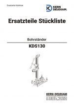Ersatzteilliste KDS130