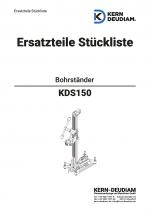 Ersatzteilliste KDS150