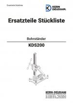 Ersatzteilliste Bohrständer KDS200