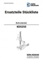Ersatzteilliste Bohrständer KDS250