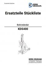 Ersatzteilliste Bohrständer KDS400