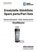 Ersatzteilliste Wasserdruckbehälter Steel Master