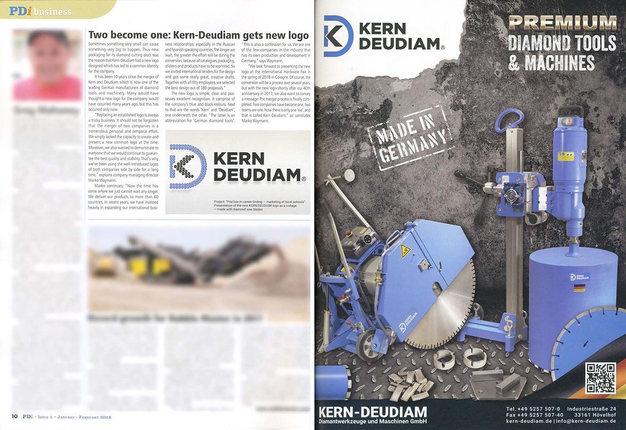 Kern-Deudiam - PDi Presseartikel 2018 - neues Logo
