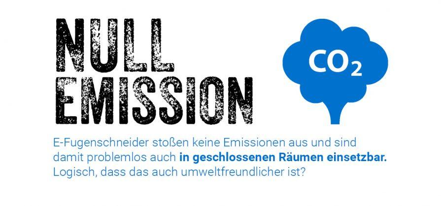 Vermeiden Sie Emissionen mit unseren elektronischen Fugenschneider.