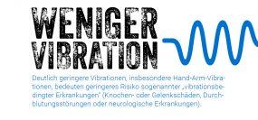 Hand-Arm-Vibration vermeiden mit einem Elektro-Fugenschneider.