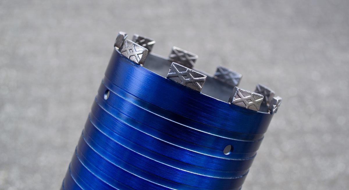 UNIX2 Trockenbohrkrone kaufen für armierten Beton, universell einsetzbar, schnittfreudig mit hoher Standzeit für alle Maschinen einsetzbar, u.a. Hilti, Weka, Tyrolit oder Cardi.