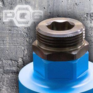 PQ6 – der neue werkzeuglose Bohrkronenanschluss für das einfache Wechseln von Diamant Bohrkronen.