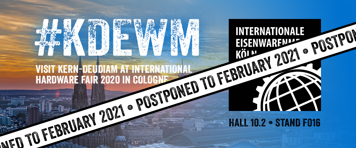 International Hardware Fair 2020 postponed to February 2021