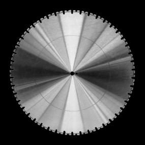 Diamant-Wandsägeblatt LUXOR von KERN-DEUDIAM