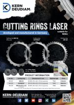 Diamond Cutting Rings Made in Germany for WEKA machines